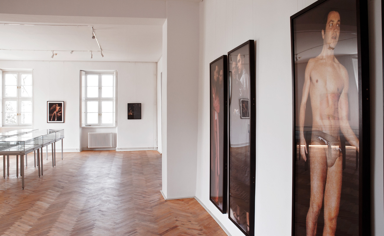 """I'll Be Your Mirror"" - Galerie im Schloss, Bad Freienwalde/Altranft, 2014"