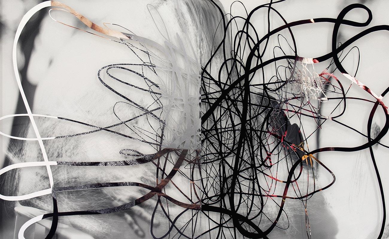 """""""Read Between The Lies"""" - papercut. detail, 2013"""