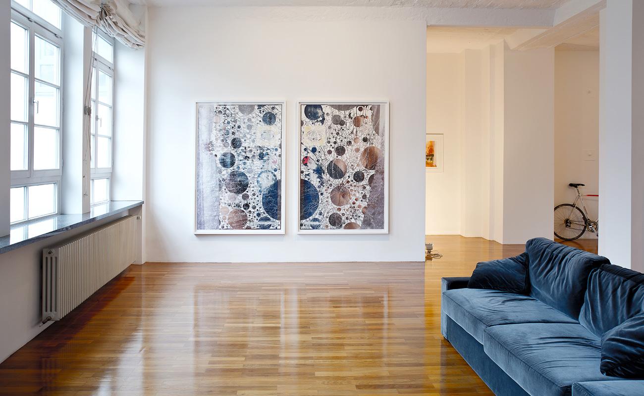 """Peter Freitag at """"Still Loft"""", 2015"""