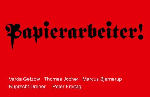 BLATTFORMER - Papierarbeiter!