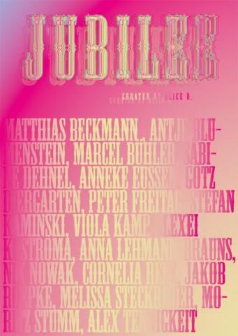Invite - Jubilee at LSD Galerie Berlin