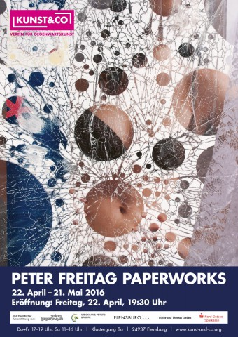 """""""PETER FREITAG - Paperworks"""" - Kunst & Co, Flensburg"""
