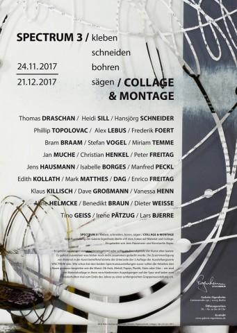 SPECTRUM 3 – COLLAGE, Galerie Eigenheim